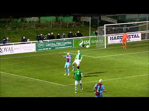 Bray Wanderers 0-1 Drogheda United - 7th March 2015