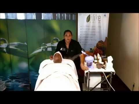 demo signature facial AHA Peeling Treatment