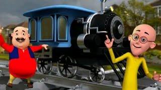 Motu Patlu Train Driver.Motu Patlu train simulator game. screenshot 5