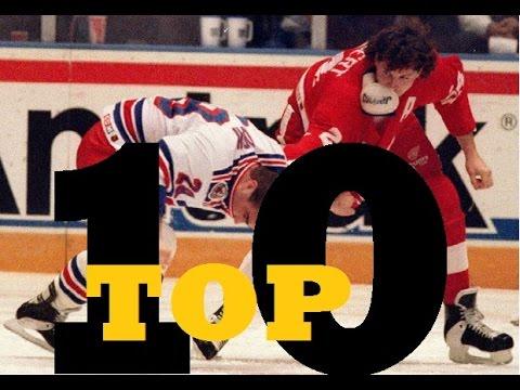 Top Ten NHL Hockey Fights of Bob Probert