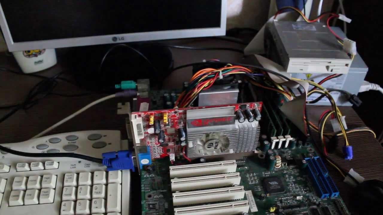Загрузка с USB флешки на старом компьютере