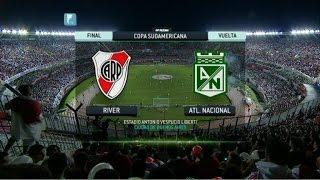 Fútbol en vivo. River - Atlético Nacional. Final. Copa Sudamericana. Fútbol Para Todos.