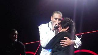 Chris Brown Birthday Serenade for his Mother
