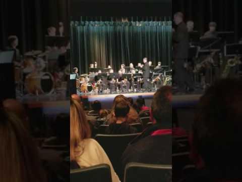 TAHOMA SENIOR HIGH SCHOOL JAZZ BAND NIGHT -  Band Director:  Mr. Mathew Cole (May 2017)