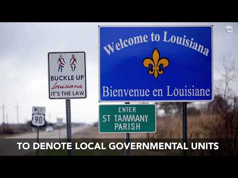 Why Does Louisiana Have Parishes? The Story Behind The State's Unique Map