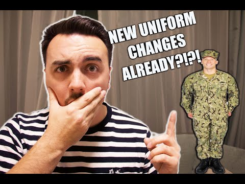 NEW NAVY UNIFORM CHANGES ALREADY?!