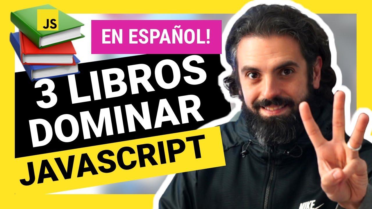 3 LIBROS para APRENDER JAVASCRIPT en ESPAÑOL