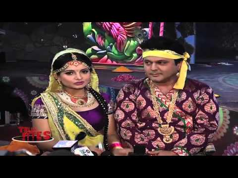 Ali Asgar And Gia Manek's Holi Dance.