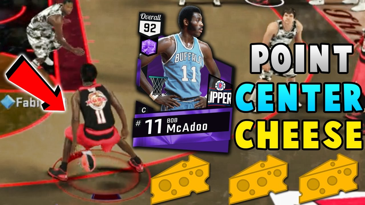 AMETHYST BOB McADOO IS THE GOAT POINT CENTER CHEESE