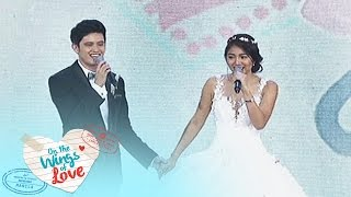On The Wings Of Love: Clark and Leah sing