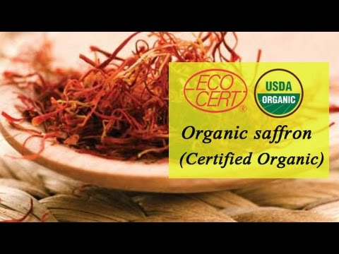 Organic Saffron supplier in Columbia