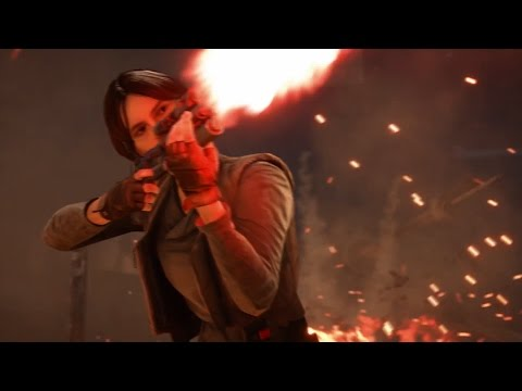STAR WARS BATTLEFRONT Rogue One Trailer 2016 Poster