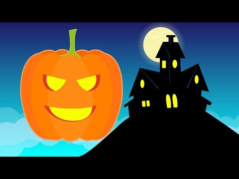 Haunted House | Halloween songs for children | Little Blue G