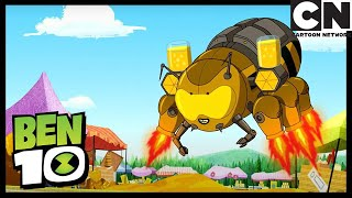 Ben 10 and Queen Face to Face | Queen of Bees | Ben 10 | Cartoon Network