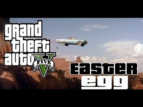 EASTER EGG - SUICIDE DE THELMA ET LOUISE [GTA 5 ONLINE]