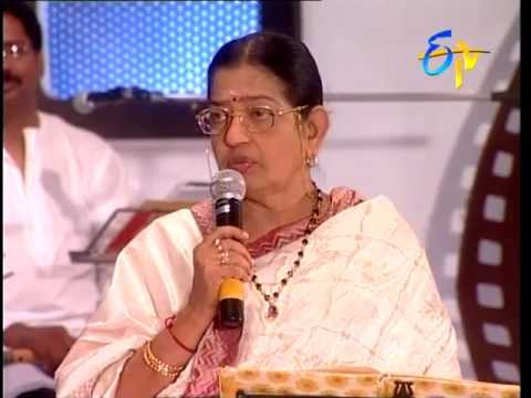 Jhummandi Naadam - (P. Susheela) Episode - 1