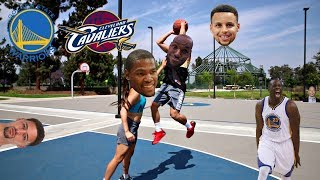 WARRIORS vs CAVALIERS NBA FINALS BE LIKE..