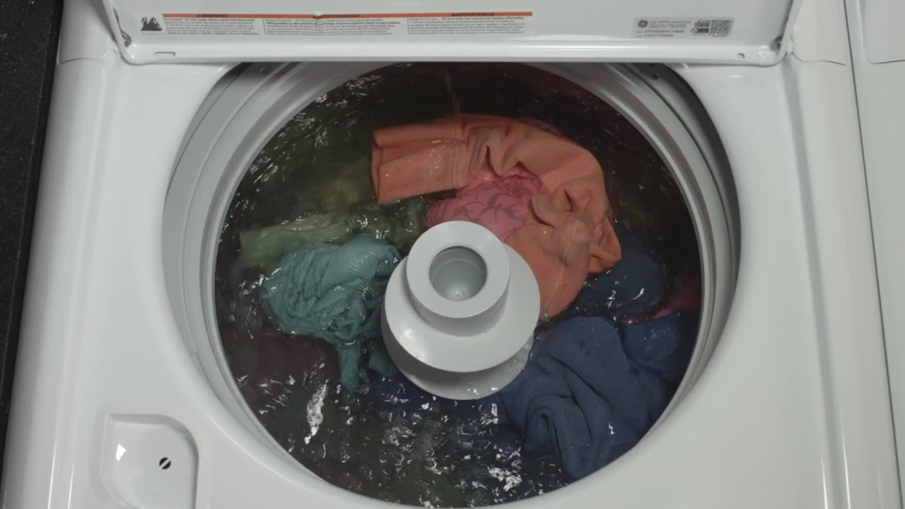 Ge Appliances Top Load Washer Deep Fill Youtube
