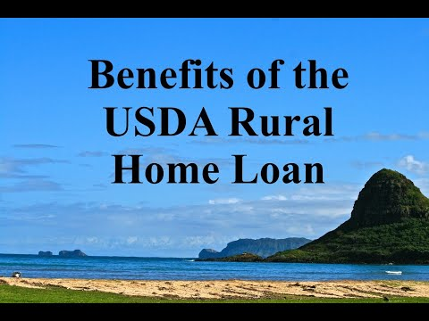 Benefits of the USDA Rural Home Loan with Hawaii Mortgage Advisor, Wayde Nakasone