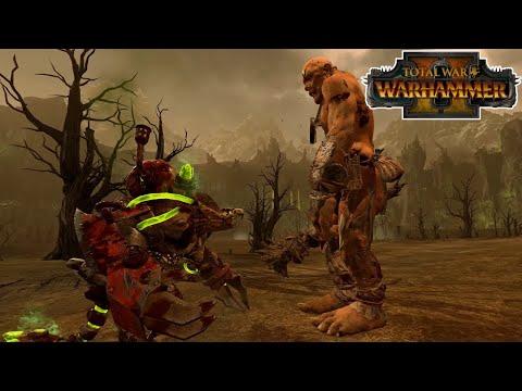 Ghoritch VS Greenskin Giant | Total War: Warhammer 2 |