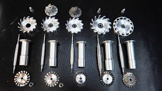 Разрабатываю и вытачиваю реактивный двигатель в гараже - турбовал