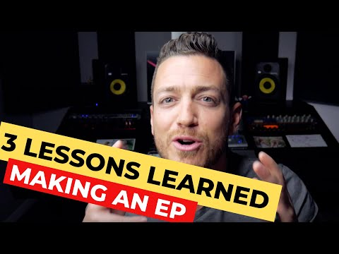 3 Crucial Lessons I Learned Making An EP – RecordingRevolution.com