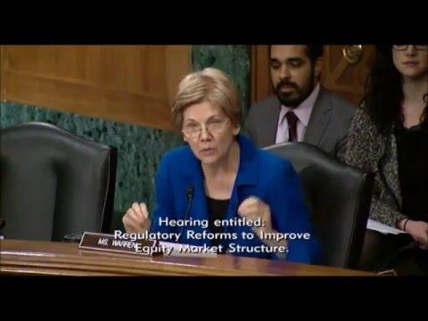 Elizabeth Warren - Regulatory Reforms to Improve Equity Market Structure