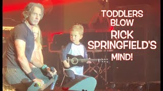 Toddlers Blow Rick Springfield's Mind!