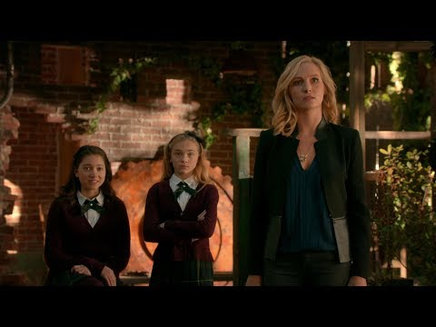 The Originals 5x12 Alaric KILLS Klaus in front of Caroline, Lizzie and Josie