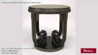 Art Deco Antique End Table American Tables For Sale