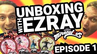 Miraculous Ladybug | #EZRAY Toy Unboxing Ep.01 | Tales of Ladybug & Cat Noir