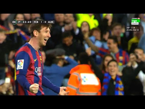 Lionel Messi ● 70 Amazing Goals in La Liga - Out of All 400 ●  With Commentaries