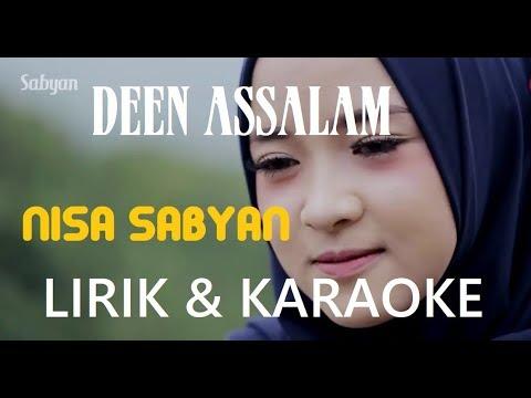 nissa-sabyan-deen-assalam-+-lirik-&-karaoke