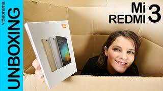 Mi Redmi 3 unboxing en español