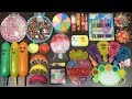 MIXING RANDOM THINGS INTO STORE BOUGHT SLIME!!! SATISFYING SLIME VIDEOS