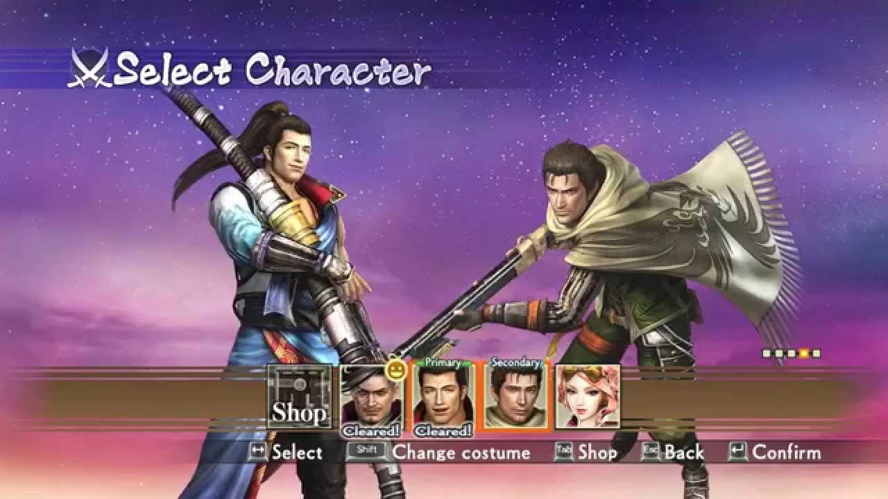 Samurai Warriors 4-2 Munenori Yagyu Rare Weapon (English ...