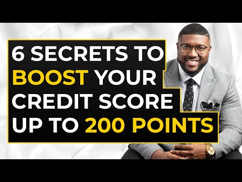 how-to-boost-credit-score-200-points-|-6-credit-building-strategies-to-raise-your-credit-score-fast!