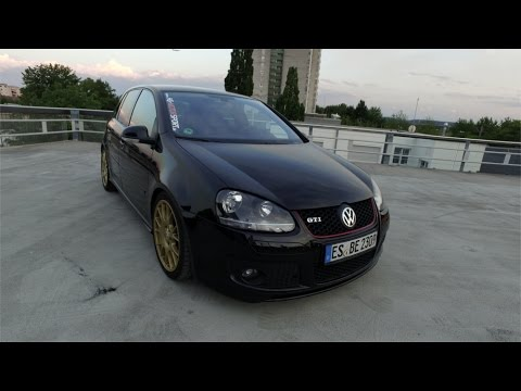 Vw Volkswagen Golf V Gti Black 0711 Crew 0711crew Esslingen Youtube
