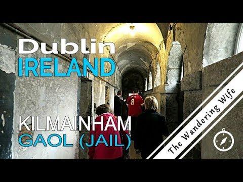 DUBLIN, IRELAND: Tour of The Ghostly Kilmainham Gaol (Jail) | TRAVEL VLOG #0048