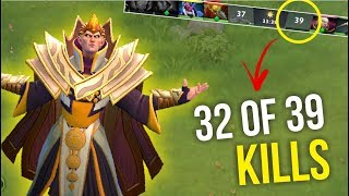 ALMOST JACKPOT - Sumiya Invoker Unbelievable 32 of 39 Kill WTF | Dota 2