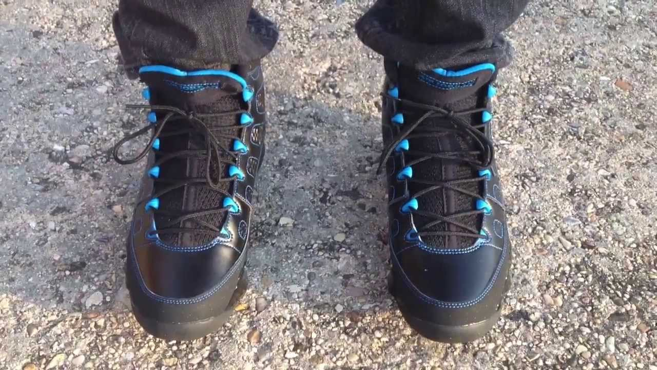 air jordan retro 9 black and blue