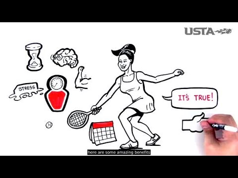 Health Benefits of Playing Tennis - USTA