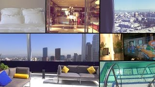 Hotel Room & Pool Tour: BeautyCon Los Angeles Trip 2014!