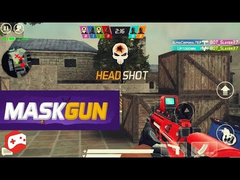MaskGun Multiplayer FPS - Free Shooting Game - OS/Android Gameplay Video
