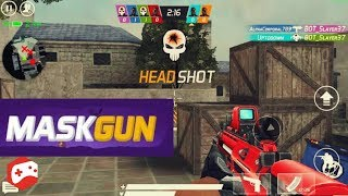 MaskGun Multiplayer FPS - Free Shooting Game - OS/Android Gameplay Video