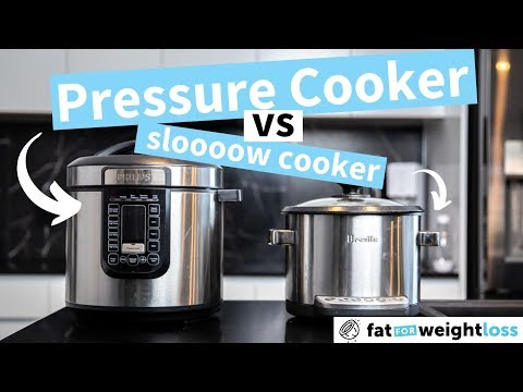 5 reasons why PRESSURE cookers are better than SLOW cookers