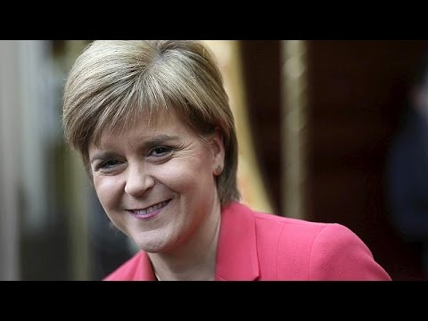 Scotland's Sturgeon shakes up Britain's politics