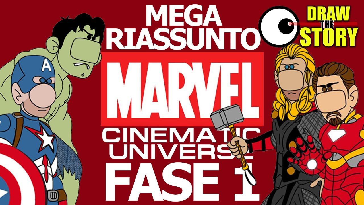 Download La FASE 1 del MARVEL CINEMATIC UNIVERSE in 16 minuti 🔴 Draw The Story