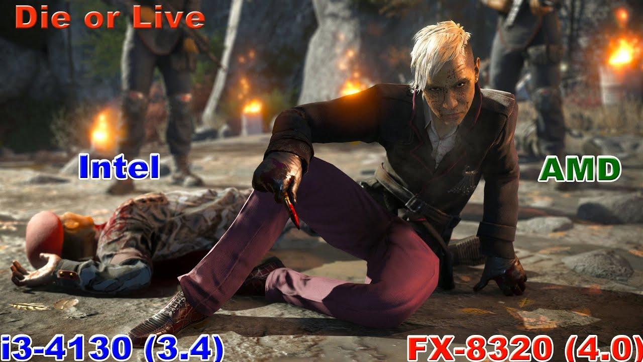 i3 4130 vs FX 8320 in 22 games (R9 280x) 1080@60