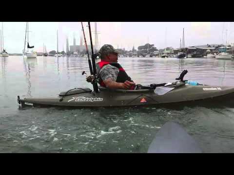 First time kayak fishing funnydog tv for Fissot fishing kayak